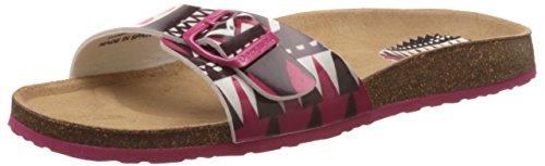 Desigual Shoes_bio 2 - Chanclas Mujer Rosa - Pink (3001 Fresa)