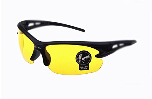 Riding Goggles Safety Eyewear Golf, Fishing, Cycling For Men Upgraded Design Yellow Lens Fit For Honda CB750F (F2N N-2 T T2 1) 1992 1993 1994 - T2 Eyewear