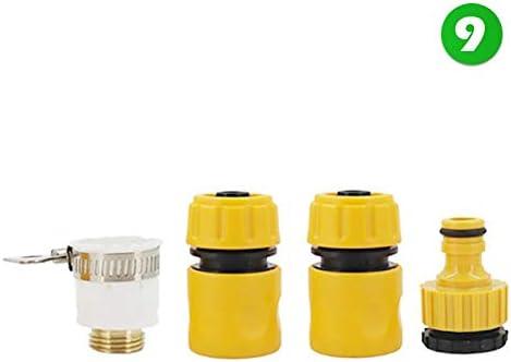 SSJFK Gartenwasserpistole Wassersammlung Bewässerungsschlauchdüse Auto-Reinigungsspritzpistole einstellbare Wasserpistole9