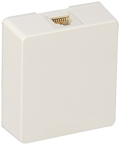 Morris 80051 Surface Mount Wall Jack - White