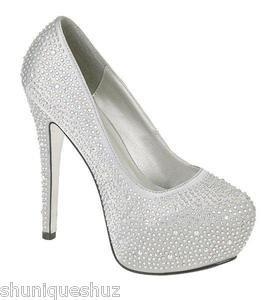 Silver Stone Heels  Tsaa Heel