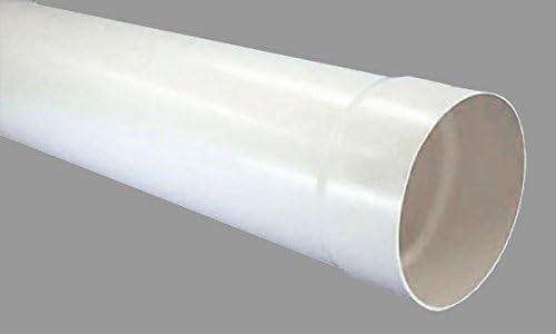 Tubo redondo de diámetro 150mm Manguito Estrella Tubo de ventilación (100cm de largo Canalizado Tubo PVC Tubo * 527991: Amazon.es: Grandes electrodomésticos