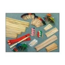 Disco Expendable Wood Skewer, 4 inch - 1000 per pack -- 10 packs per case. by Disco
