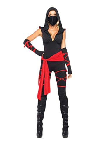 EMONJAY Ninja Costume Suit [XL Size for Women