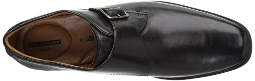 Strap Style Loafer Clarks Monk Black Men's Tilden Leather gqwWvfIUA