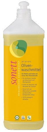 Sonett Oliven Waschm.f.Wolle u.Seide 1000 ml