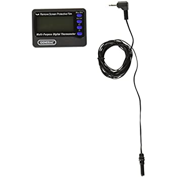 General Tools AQ150 In and Out Aquarium Thermometer with Waterproof Probe
