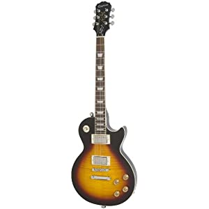 Epiphone Les Paul Tribute Plus Outfit with Gibson '57 Classic Pickups Includes Case, Vintage Sunburst Finish, Mahogany and Maple Body, '57 Humbuckers, Mahogany Neck