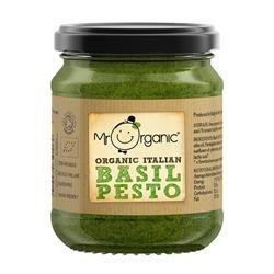 Mr Organic Organic Basil Pesto 130g
