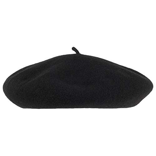2bb4416f Kangol Anglobasque Beret - Black: Amazon.co.uk: Clothing