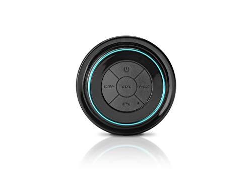 SoundBot SB516/SB517 Bluetooth Wireless Waterproof Speaker with Built-in Mic - Black