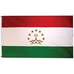 Flag Country Tajikistan Poly 3ft X 5ft
