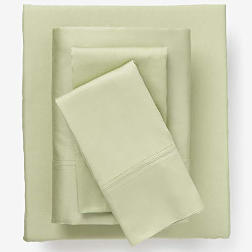 BrylaneHome Bed Tite 300-Tc Sheet Set - Sage, Queen
