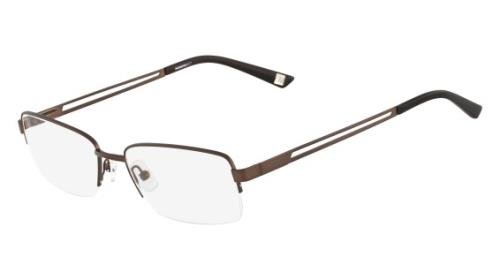 MARCHON Eyeglasses M-PINE STREET 210 Brown 53MM from MarchoNYC