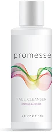 PROMESSE Gentle Foaming Facial Cleanser Gel for Normal to Dry Sensitive Skin. Best for Acne control, Rosacea & Keratosis Pilaris. Daily Hydrating Face Wash & Scrub for Oily, Combination or Aging Skin.