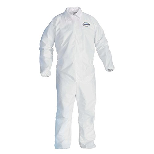 Kleenguard A20 Breathable Particle Protection Coveralls (37718), REFLEX Design, Zip -