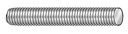 Threaded Rod, 304 SS, 1/4-28x3 ft ()