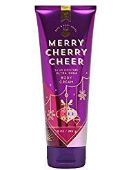 Bath & Body Works Merry Cherry Cheer Ultra Shea Body Cream, 8 Ounce ()