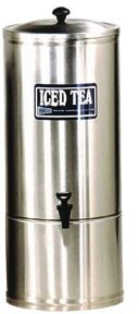 Grindmaster-Cecilware S5 w/Handles Stainless Steel Iced Tea Dispenser with Handle, 5-Gallon