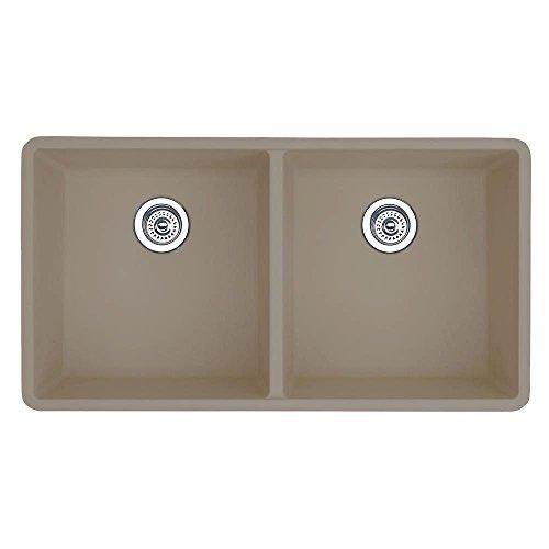 Beige Double Bowl Faucet - 2