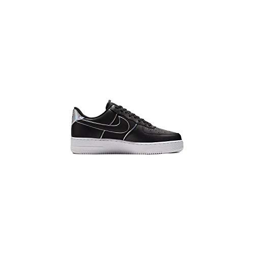 Nike Men's Air Force 1 LV8 Black/Black/Black Leather Casual Shoes 10.5 M US ()