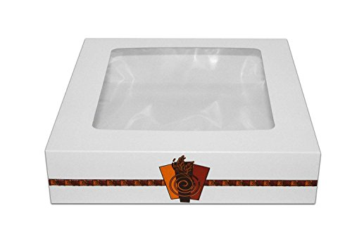 Inno-Pak 1200202 Bakery Carton, Harvest Design with Window, 10