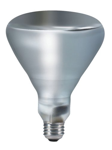 Philips 202051 250-watt BR40 TuffGuard Coated Heat Lamp Light Bulb