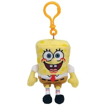 Amazon.com: Ty SpongeBob SquarePants clip: Toys & Games