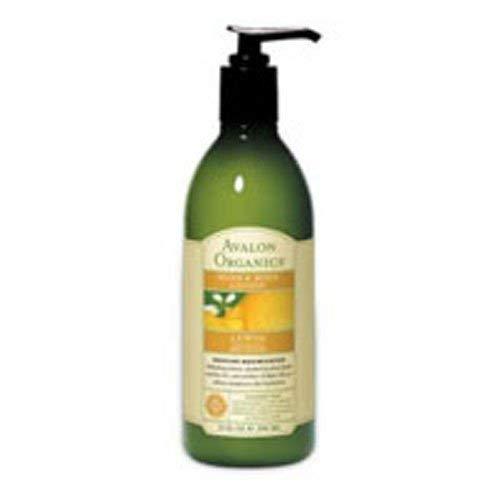 Avalon Organics Lemon Hand and Body Lotion, 12 Ounce - 3 per case. - Organics Hand Body Lotion