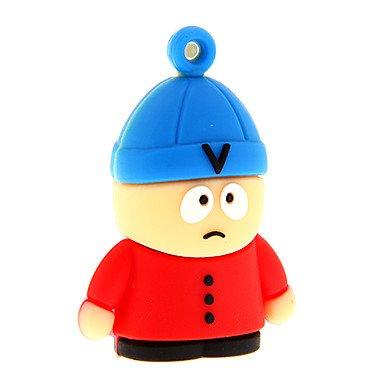 Zp40 8gb cartone animato uomo con il cappello usb 2.0 flash drive