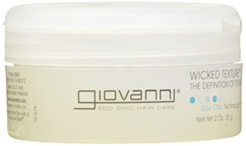 GIOVANNI- Eco Chic Wicked Texture- The Definition of Pomade- Hair Texturizer (2 Ounce) (Best Texturizer For 4c Hair)