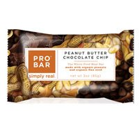Probar Whole Food Meal Replacement Bar Peanut Butter Chocolate Chip, Peanut Butter Chocolate Chip 3 OZ(case of 12) (Pack of 3) by Probar