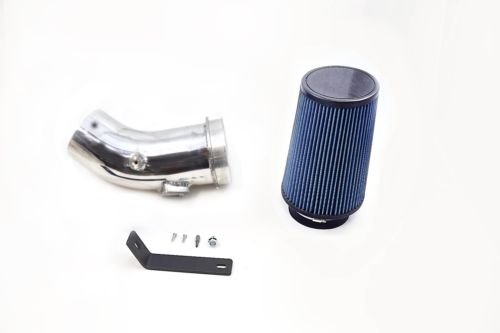Polished Cold Air Intake Kit For 2011-2016 Ford 6.7L Powerstroke Diesel 6.7 Oiled Filter