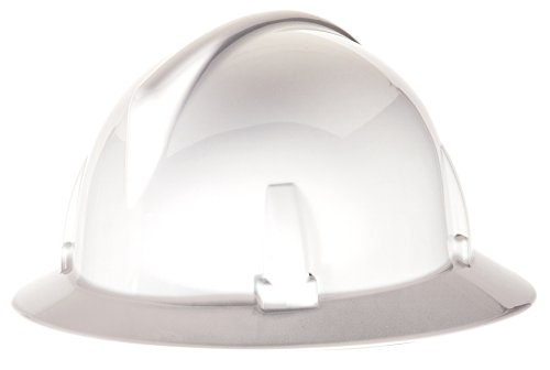MSA 475393 Topgard Non-Slotted Protective Hat with Fas-Trac Suspension, Standard, White ()