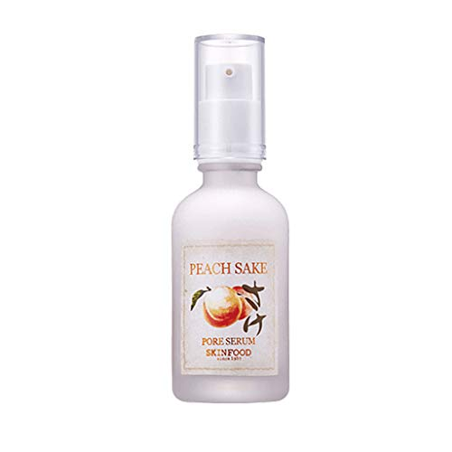 Foods Peach - SKIN FOOD Peach Sake Pore Serum 45ml (1.52 oz) - Tighten Pores and Sebum Control Skin Smoothing Facial Serum for Oily Skin, Rich in Vitamin C and A