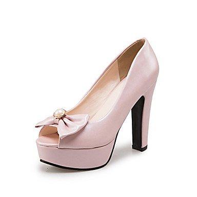 LFNLYX Sandalias mujer Primavera Verano Otoño Comfort Novedad Materiales personalizados polipiel parte & vestido de noche casual tacón cuña beige rosa Blue