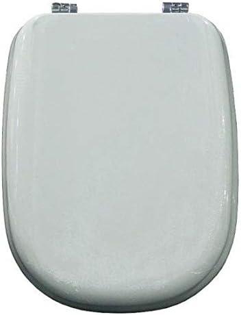 Sedile Tesi Ideal Standard Bianco Europa.Copriwater Ideal Standard Tesi Bianco Euro Cerniera Cromo Sedile Asse Wc Amazon It Fai Da Te