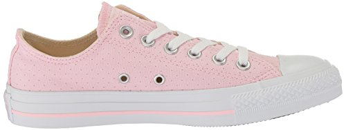 Converse Kvinders Converse All-star Perforeret Lærred Lav Top Sneaker Cherry Blossom / Hvid / Hvid m80lYzd4vV