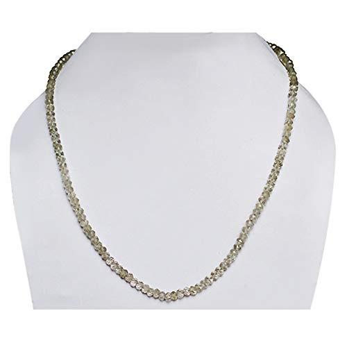 Ravishing Impressions 5 MM Natural Green Amethyst Gemstone Strands Beads, Faceted String Beads, New Rondelles Beads, Women Jewellery FSJ-700