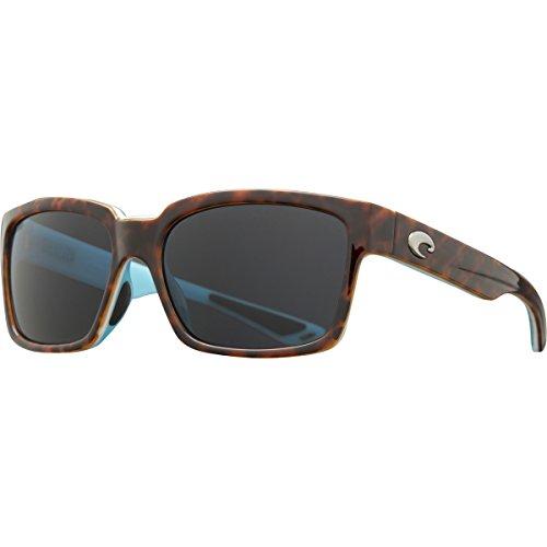 Costa Del Mar Playa Polarized Sunglasses Light Tortoise/White/Aqua