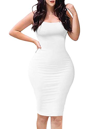 Sleeveless Bodycon Club Pencil Dress