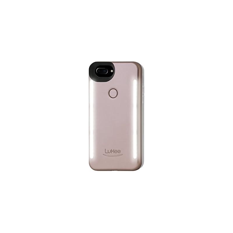 LuMee Duo Phone Case, Rose Matte   Front