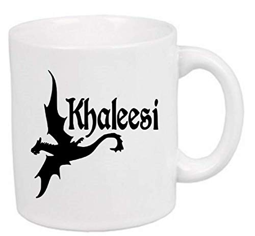 Khaleesi Dragon Game of Thrones Mug Coffee Cup Gift Halloween Home Decor Kitchen Bar Gift for Her Him Any Color Personalized Custom