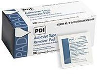 1131957-pt-b16400-pad-adhesive-tape-remover-100-count-1-1-4x2-5-8-bx-made-by-pdi-professional-dispos