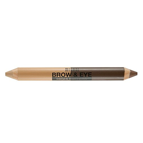 Milani Brow & Eye Highlighter, Vanilla/Natural Taupe, 0.17 Ounce