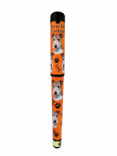Wire Fox Terrier Pen Easy Glide Gel Pen, Refillable With A Perfect Grip, Great For Everyday Use, Perfect Wire Fox Terrier Gifts For Any Occasion