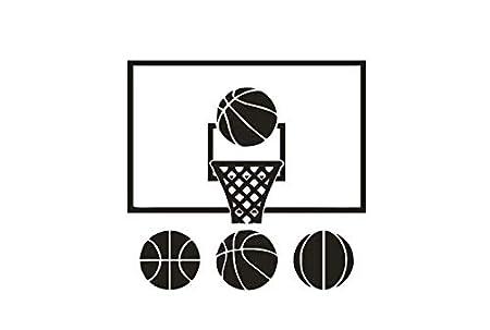 Decoracion de la habitacion del deporte del baloncesto de ...