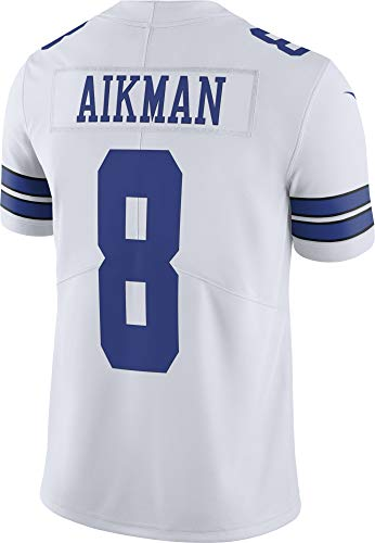NFL Mens Dallas Cowboys Troy Aikman NIKE Jersey, Limited White, 2X-Large