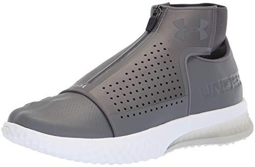 Under Armour Men's ArchiTech Futurist Sneaker, Graphite (103)/White, 10 -