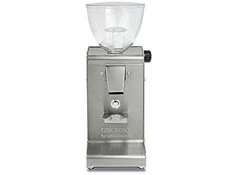 Ascaso MIN410 I-steel I-1 T molinillo de café molinillo de discos de acero inoxidable con temporizador: Amazon.es: Hogar